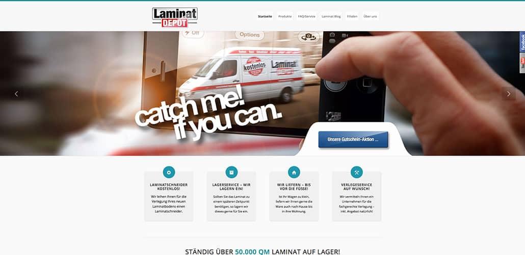 Laminat depot heavysign agentur f r werbung for Depot friedrichshafen