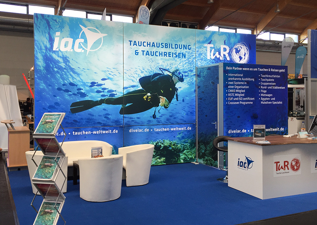 i.a.c. Messestand